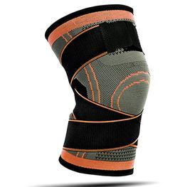 Compression Knee Sleeve Brace with Side Straps - Knee Brace