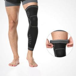 Compression Men Women Knee Sports Socks High Support Stockin