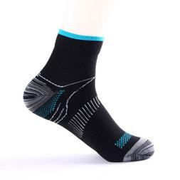 Compression Socks Running Support Arch Ankle Mens Women Plan