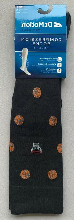 Compression Socks w/ Basketballs Size 10-13 1 Pair! 3 Pair!