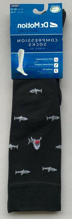 Compression Socks w/ Sharks Size 10-13 1 Pair! 3 Pair! Healt