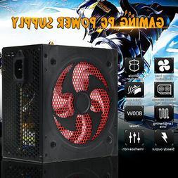 Computer Gaming Power Supply 800W PSU PFC ATX 24pin Sata For