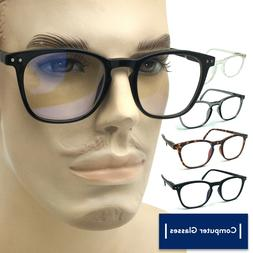 Computer Glasses Anti UV Reflective Blue Light Ray Readers f