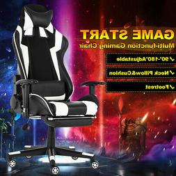 Computer Office Chairs Swivel Leather Ergonomic Racing Gamin