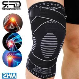 Copper Knee Sleeve Compression Brace Patella Support Stabili