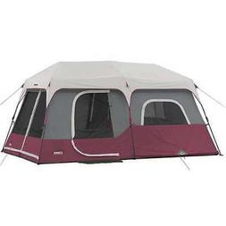 CORE Outdoor Family Camping 9-Person Pop Up Cabin Tent