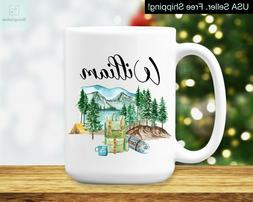 Custom Camper Mug - Camping Lover Coffee Mug - RV Camper Gif