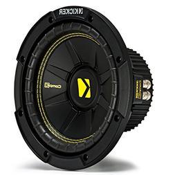 "Kicker CWD8 Car Audio CompC Subwoofer Dual 4 Ohm 8"" Sub 44CW"