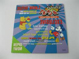 Disney's Daily Blast Online Services For Kids CD-Rom Compute
