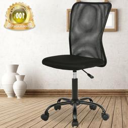 Ergonomic Mid Back Mesh Computer Desk Office Chair w/Lumbar