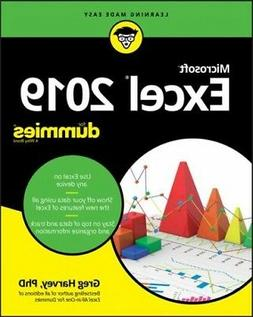 Excel 2019 for Dummies, Paperback by Harvey, Greg, Ph.d., Li