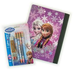 Disney Frozen Composition Notebook Mechanical Pencil Origina