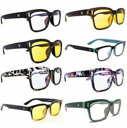 Gaming Glasses Computer Blue Light Blocking Anti Fatigue UV