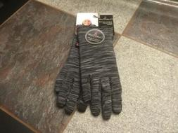 gloves ladies osfa blk tweed stretch w