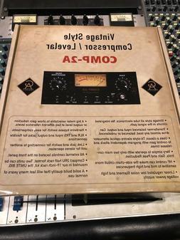 Golden Age Comp2A VINTAGE-Style Tube Compressor Limiting Amp