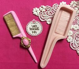 Hair Comb I Salon Make Up, decorating cake cupcake wax soap