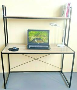 Home Office Computer Desk/Table 2 Shelves