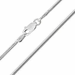 Honolulu Jewelry Company Sterling Silver 1.9mm Snake Chain N
