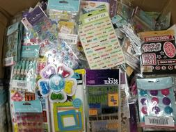 HUGE Lot of 75 K&Company,Sticko,Jolee's,Stickers and Scrapbo