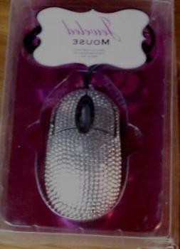 Jeweled Mouse - BRAND NEW IN PACKAGE - GLAMOROUS SPARKLE - T