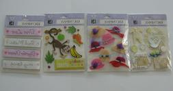 K&Company Dimensional Stickers U CHOOSE NEW! FREE SHIPPING