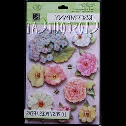 K&COMPANY FLOWERS STICKERS SW Susan Winget Floral GRAND ADHE