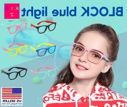 Kids Blue Light Blocking Glasses | Computer Screen & Reading