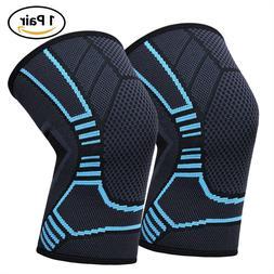 Knee Sleeve Compression Brace Support For Women Men Sport Jo
