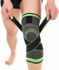 Knee Sleeve, Compression Fit Support -for Joint Pain and Art