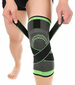 Knee Sleeve Compression Fit Support for Joint Pain and Arthr
