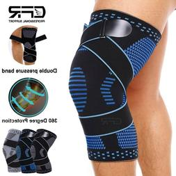 Knee Support Brace Compression Sleeve Arthritis Running Gym
