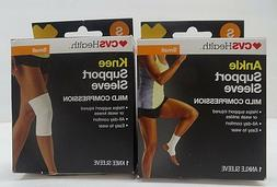 CVS Health Knee Support Sleeve Mild Compression Small