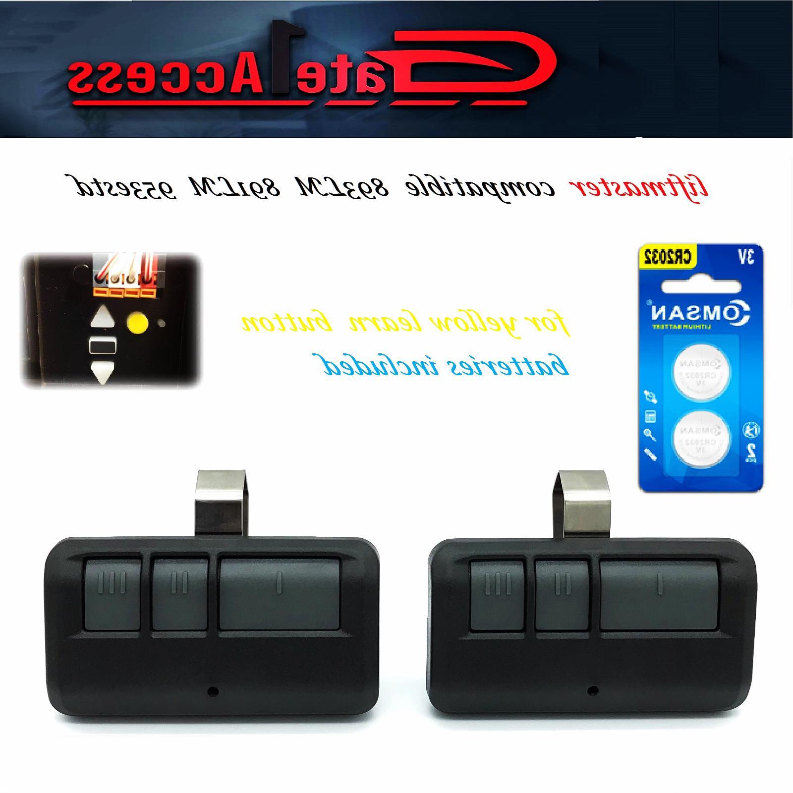 893lm comp remote control liftmaster 891lm 953estd