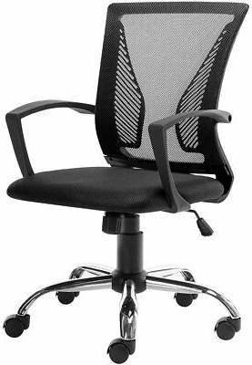 adjustable ergonomic office desk chair mesh swivel