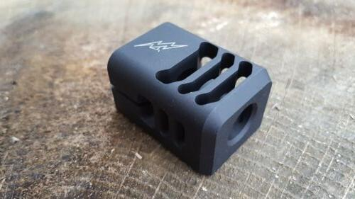 Archon Mfg. Compensator 9mm 1/2-28 19 34 Black Anodize