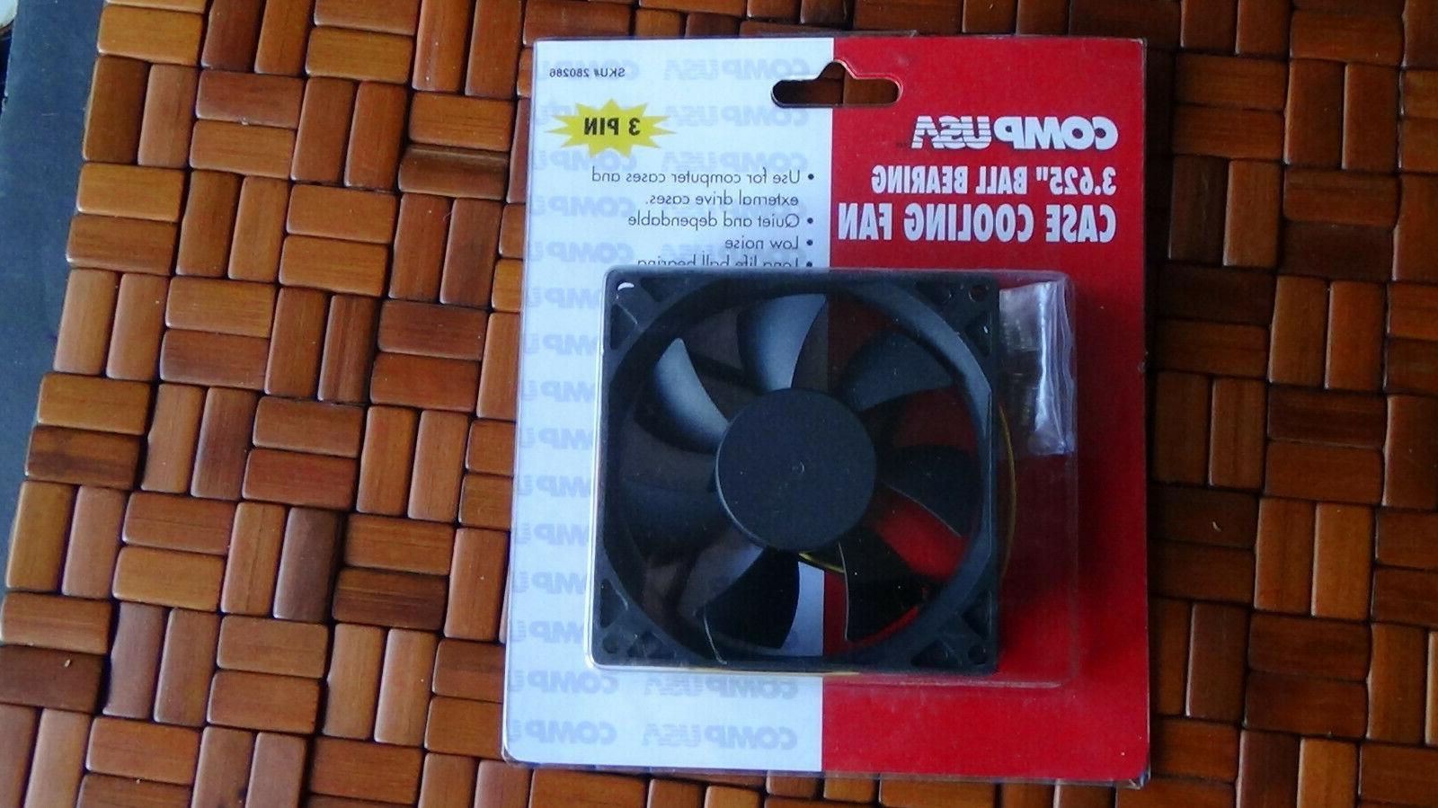 ball bearing 3 pin case cooling fan