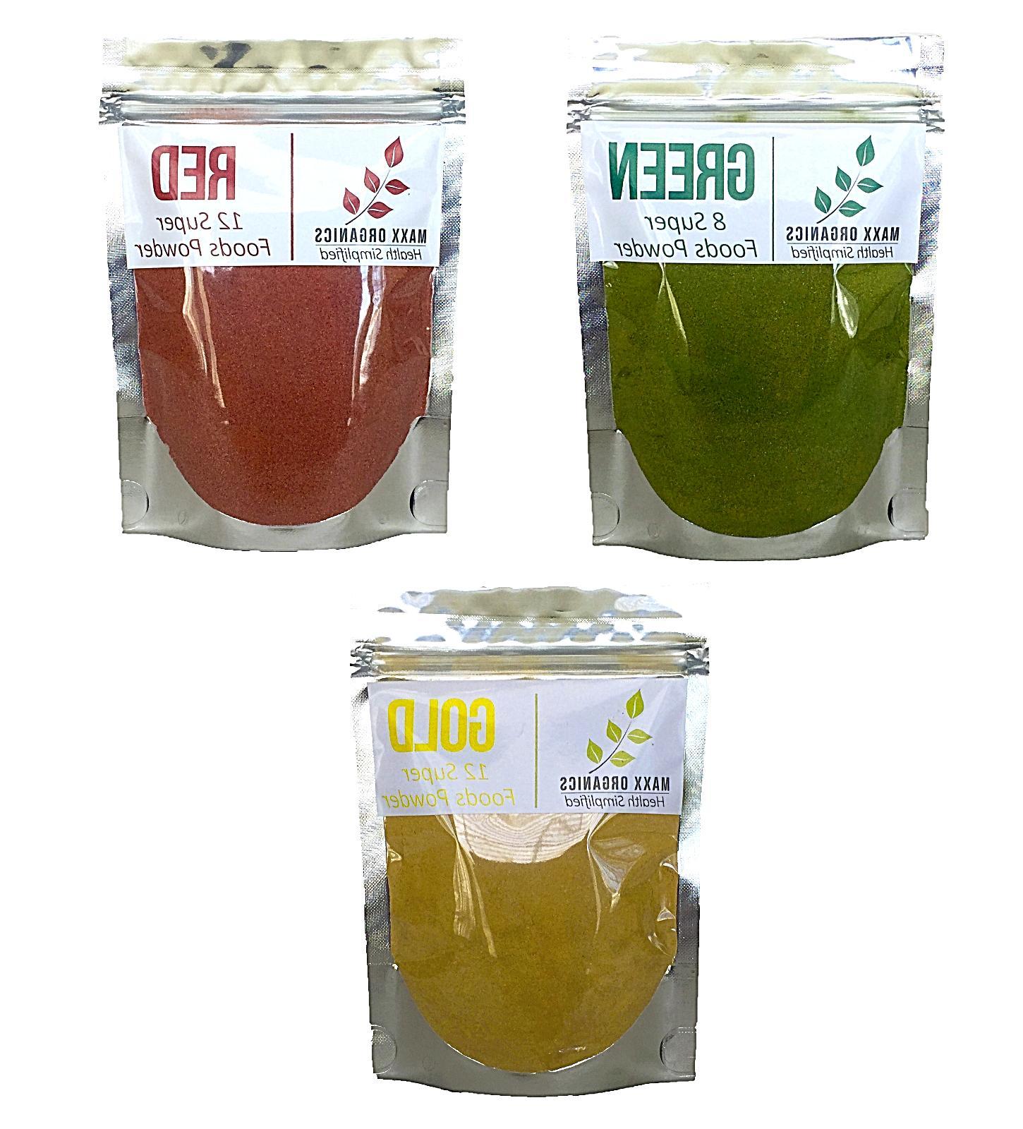 MAXX Organics GREEN REDS POWDER Organifi