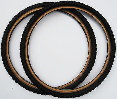 "Kenda Comp old skinwall gumwall tires 1.75"""
