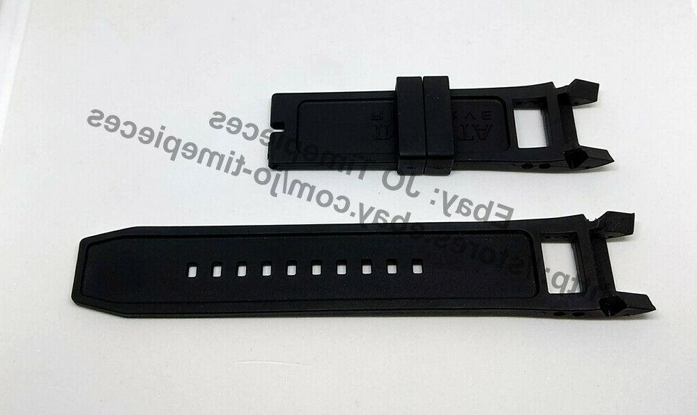 Comp. 80613 90056 26mm Black Band Strap