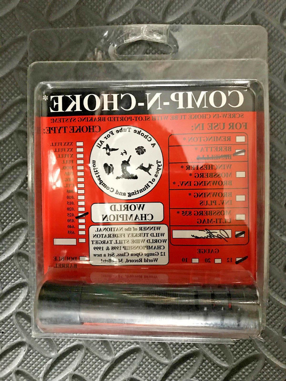 comp n choke choke tube 12 gauge