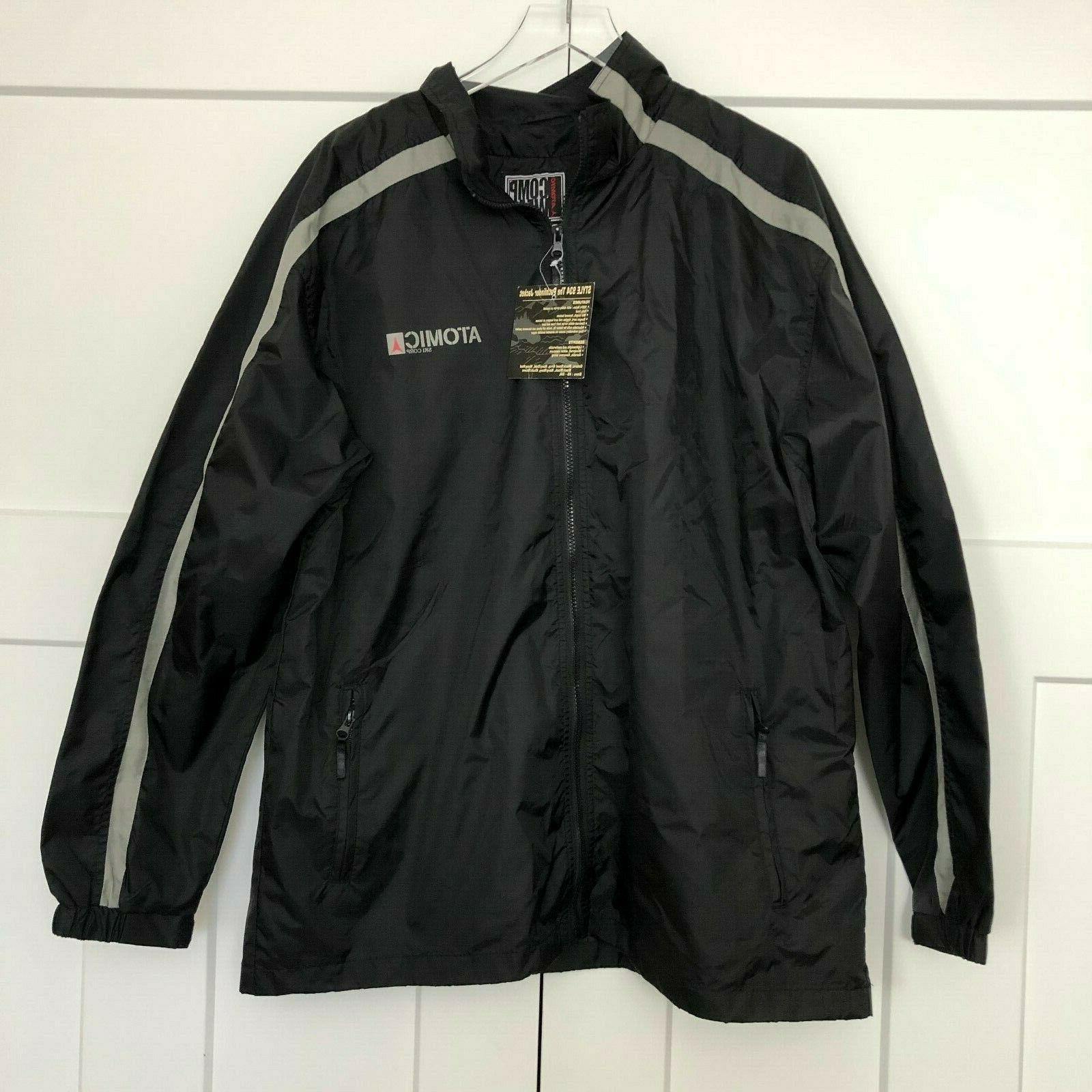 comp wear mens ski jacket shell size