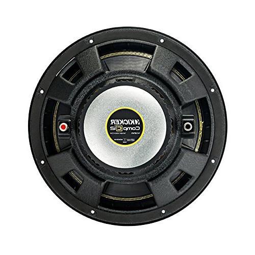 Kicker Comps 500W + Q Power Enclosure 1100W A/B