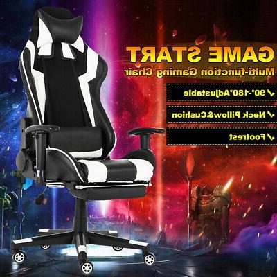 computer office chairs swivel leather ergonomic racing