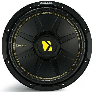 Kicker 44CWCD124 C Car Audio Dual Ohm Sub