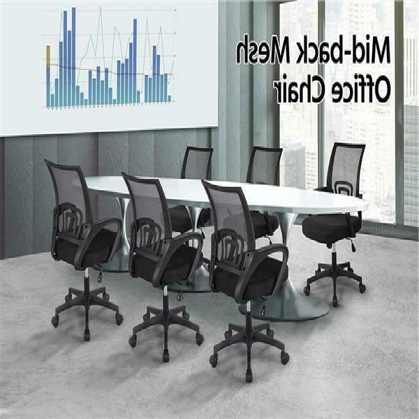 Free Shipping Mid-back Mesh Office Chair Desk