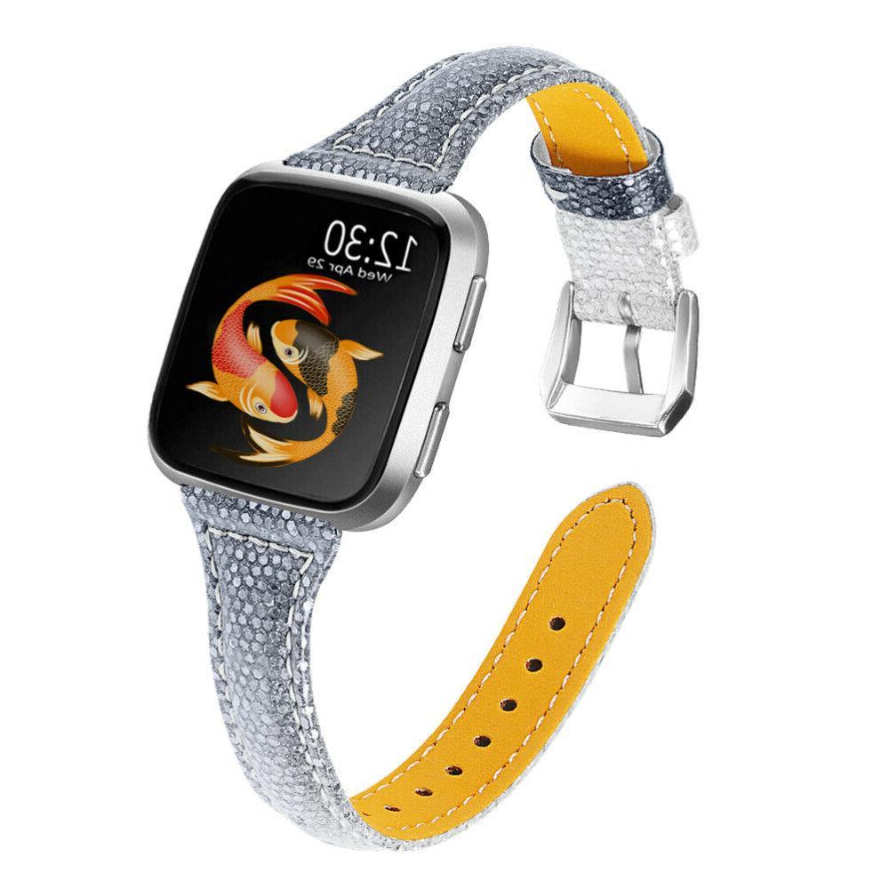 genuine leather smartwatch strap watch band stylish