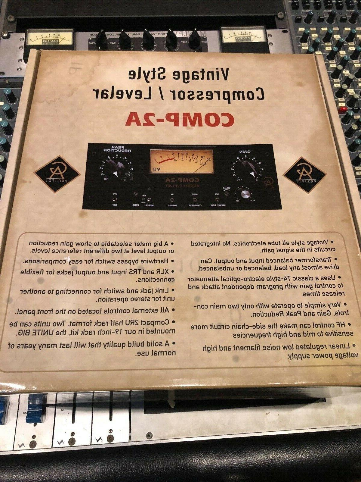 golden age comp2a vintage style tube compressor