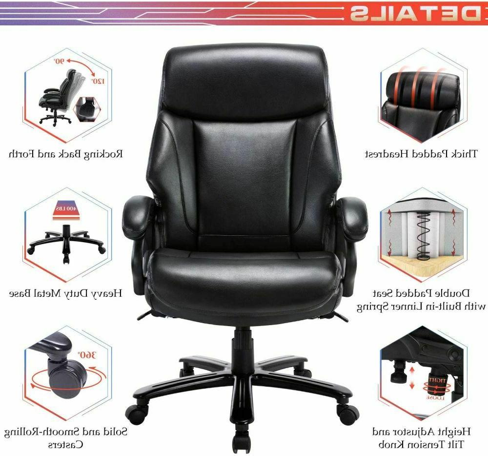 High Back Tall Office Chair Executive Desk