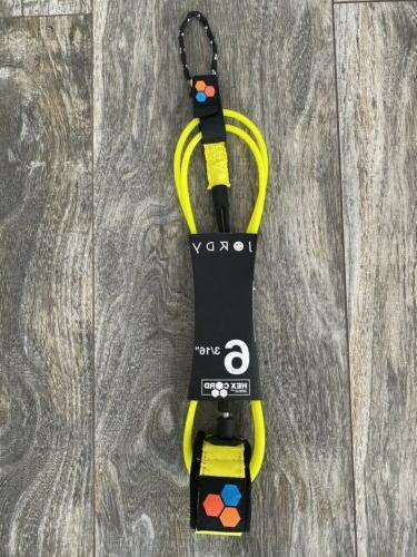 jordy surf leash hex cord new 6
