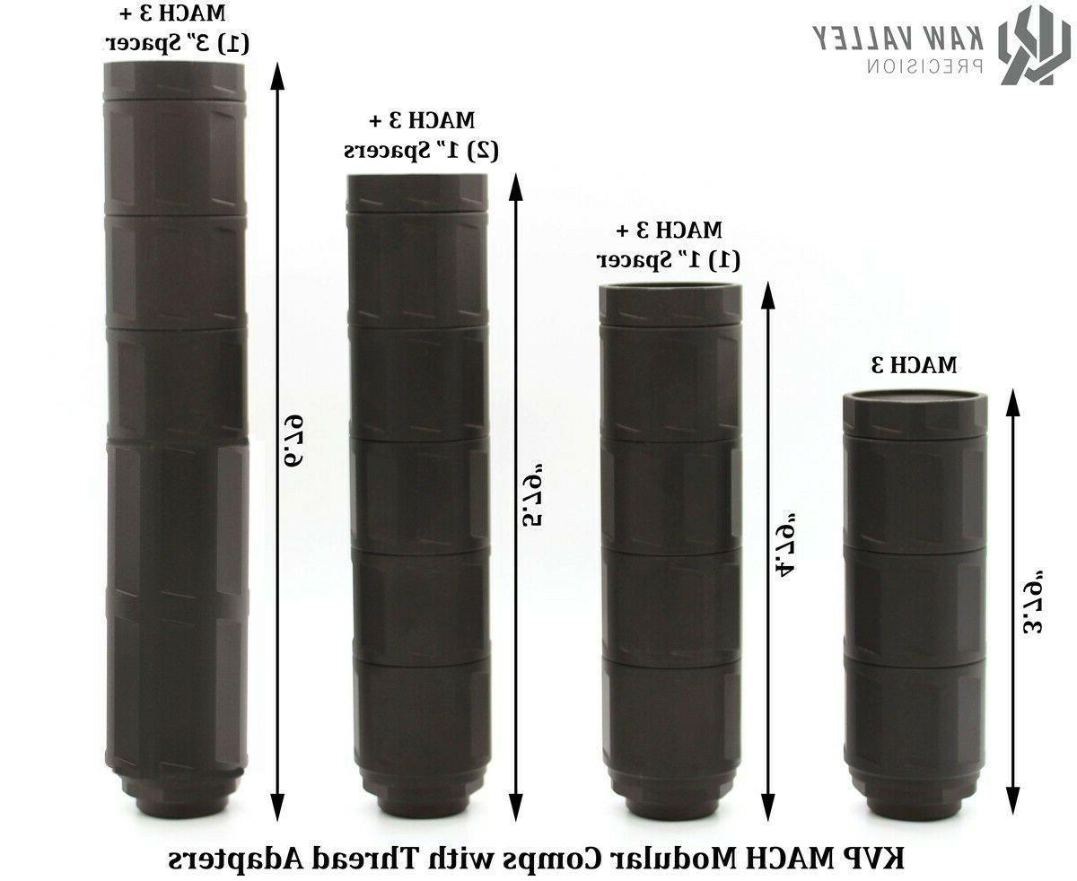 Kaw Valley Precision MACH 3 Modular Linear Body w/ End Cap
